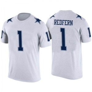 Kasey Redfern Dallas Cowboys Youth Legend White Color Rush T-Shirt