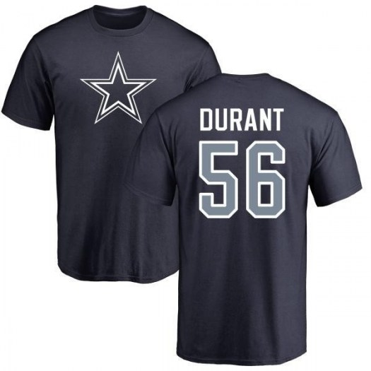 Justin Durant Dallas Cowboys Youth Navy Pro Line Any Name & Number Logo T-Shirt -
